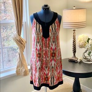 Style & Co Multicolor Sleeveless Dress Size XL